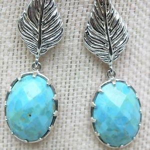 Women's Turquoise Ear Rings